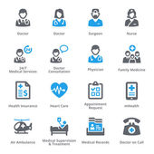 Medical & Health Care Icons Set 1 - Services | Sympa Series