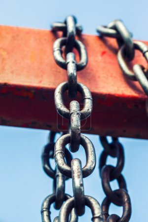 Photo for Metal chain - Royalty Free Image