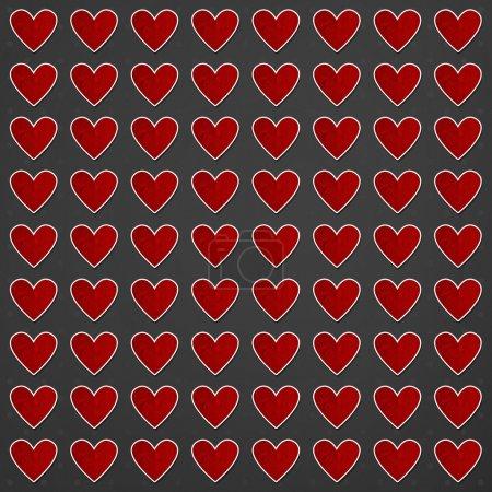 Photo pour Fond de Saint Valentin avec coeur - image libre de droit