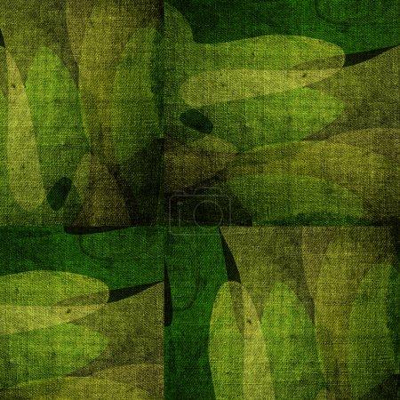 Foto de Fondo de grunge militar verde - Imagen libre de derechos