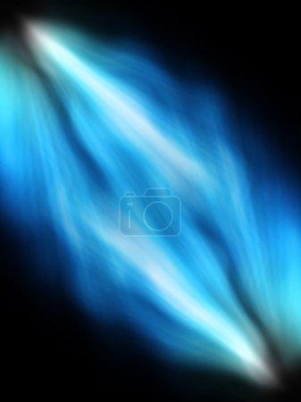 Photo for Spotlight back and white lighting on black - Royalty Free Image