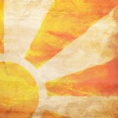 Sunbeams background with stains