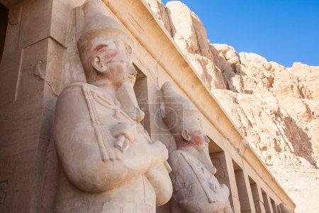 Partie du temple de la Reine Hatshepsut