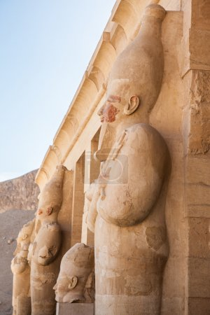 Part of the Queen Hatshepsut's temple