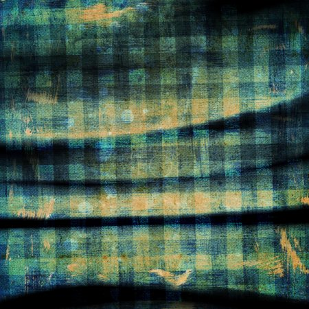 Сheckered fabric pattern