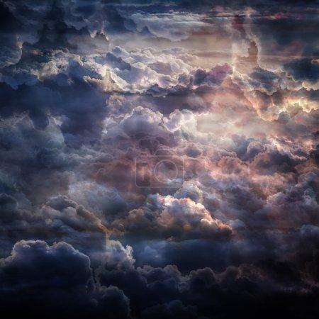 Beautiful  sky clouds