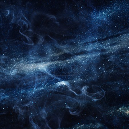Universe filled with stars
