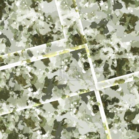 Foto de Fondo de grunge militar verde con rayas y manchas - Imagen libre de derechos