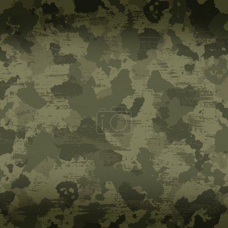 Foto de Fondo militar camuflaje con rayas y manchas - Imagen libre de derechos