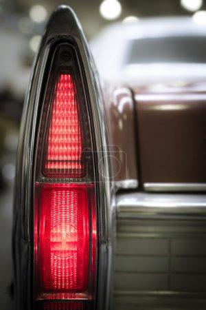 Rear vintage tail light