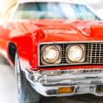 Постер, плакат: Shiny Red Classic Car