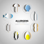 Set for papercut allergens products