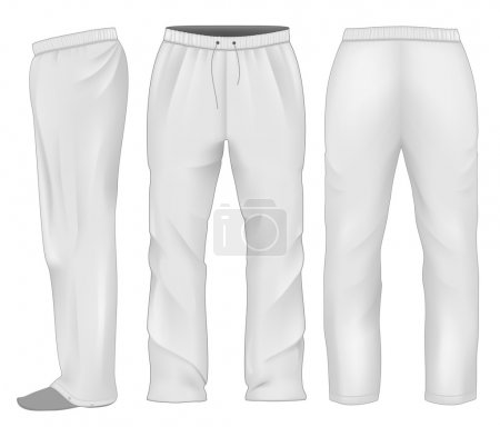 Men sweatpants white.