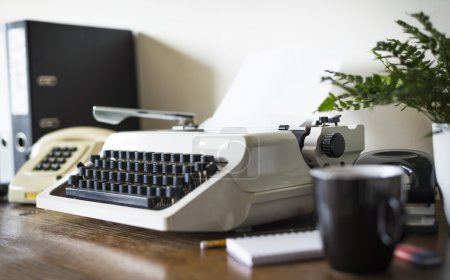 Eighties office desk