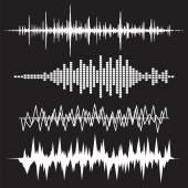 Sound Waves Icons Set