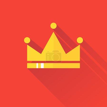 Golden diadem logo