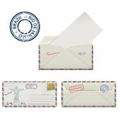 May 05 2015: Illustration of Christ the Redeemer statue which is located in Rio de Janeiro Brazil Placed on the envelope part of the set of three objects