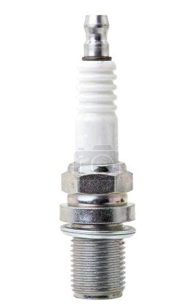 spark plug on white