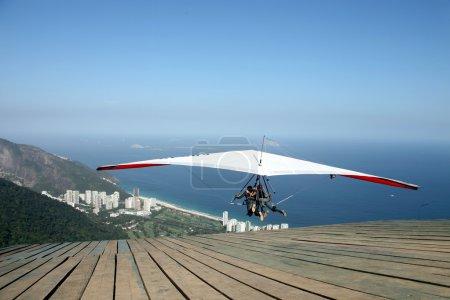 Aerial view of Rio de Janeiro Brazil beaches