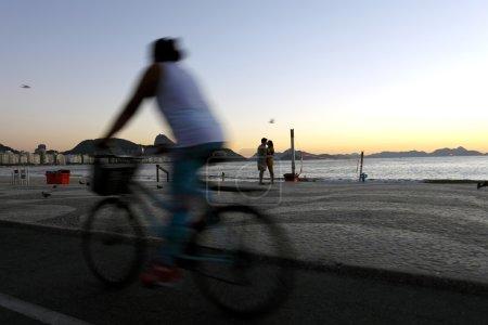 Dawn in Copacabana, Rio de Janeiro