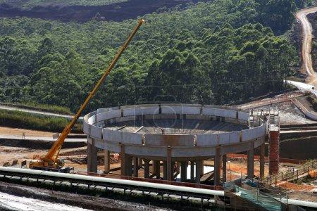 construction process in development