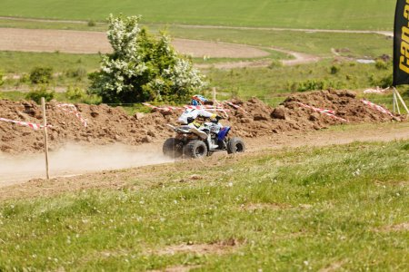 """Kamenets-Podolskiy 16 of may 2015 : """"Counrty cross"""" competition Ukrainian cross country for quad bike"""