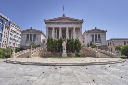 Athens Greece, the national library
