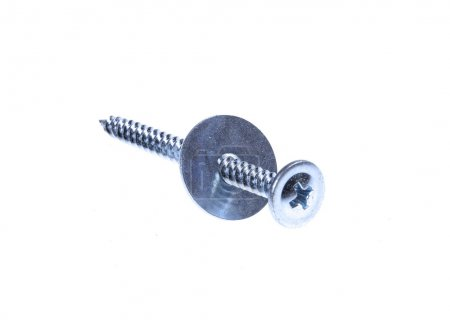 Screw  and washers