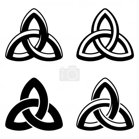Celtic knot elements