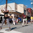 Постер, плакат: Street Performers Entertain People At Atlanta Festival