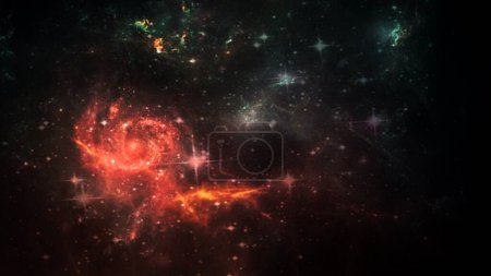 Photo for Planets and galaxy, science fiction wallpaper. Beauty of deep space. Billions of galaxies in the universe Cosmic art background - Royalty Free Image