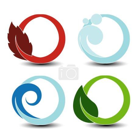 circular elements of natural symbols