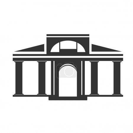 Historical building symbol
