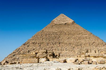 Giza Necropolis, Giza Plateau, Egypt. UNESCO World Heritage