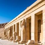 Statue of the Queen Hatshepsut's temple (Dayr el-B...