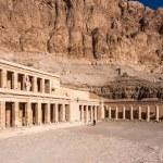 Part of the Queen Hatshepsut's temple (Dayr el-Bah...