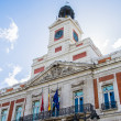 House of the Post Office on the Puerta del Sol, Ma...