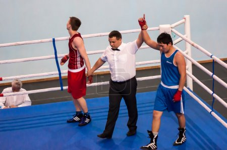 Fight boxers, Orenburg, Russia