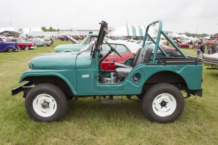 1965 Willys Jeep Side View