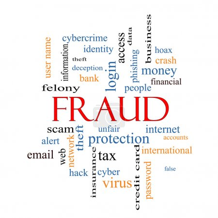 Fraud Word Cloud Concept
