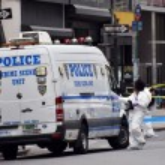 Постер, плакат: NYPD crime Scene Investigation