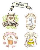 Sweet hand-drawn badges