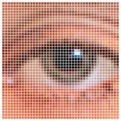 Pixel oko