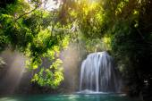 Deep forest Waterfall