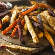 Oven Baked Vegetable Fries with Carrots, Potato, a...