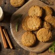Homemade Brown Gingersnap Cookies for the Holidays