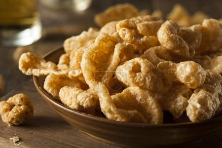 Homemade Fatty Pork Rinds to Snack on...