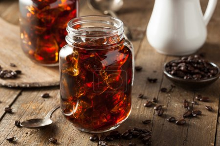 Photo for Homemade Cold Brew Coffee to Drink for Breakfast - Royalty Free Image
