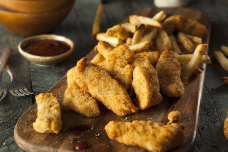 Homemade Breaded Chicken Tenders