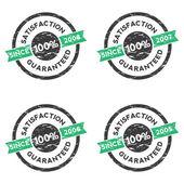 Satisfaction guaranteed vector stamp